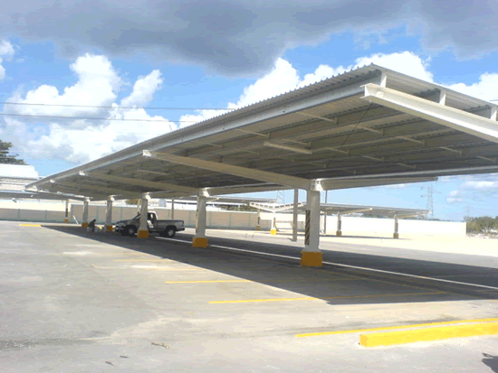 Estructura para estacionamiento