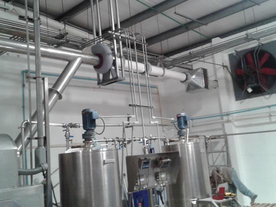ductos para extracción de vapores